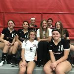 Freshman Volleyball end their season in a battle, but fall to Andrean 2-0