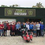 Boys Tennis Visits Operation Combat BikeSaver