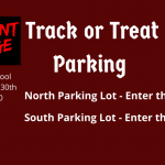 Track or Treat Parking Information