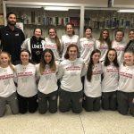 Girls JV basketball team defeats North Newton with a great team effort!
