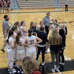 Girls Varsity Basketball bring home a win over Morton at Fan Appreciation Night.