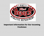 Important Information for Our Incoming Freshmen