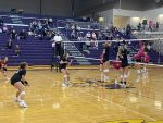 Varsity Volleyball beats Hobart 3 – 0