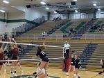 Varsity Volleyball ends the season with a tough sectional loss to Chesterton 3 – 0