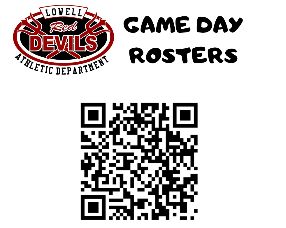 LOWELL VS MORTON GAME DAY ROSTER