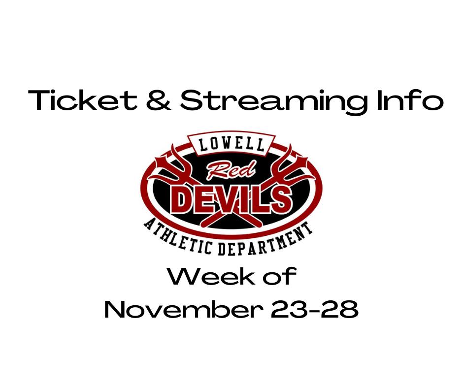 Event Info for Nov. 23-28