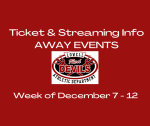 "Ticket & Streaming Info for ""Away"" Events"