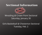 Ticket Info for Upcoming Sectional Contests