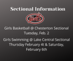 Ticket Info For Upcoming Sectionals
