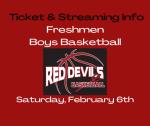 Freshmen Boys Basketball Games – Saturday, February 6th