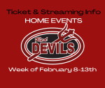 Ticket and Streaming Info for Home Events: February 8-13th