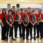 Bellefontaine varsity boys bowling team goes undefeated to win Holiday baker tournament at TP Lanes Friday
