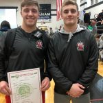 Two Chieftain Wrestlers Qualify for Districts