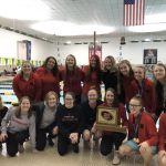Lady Chiefs Swim Team CBC Champs!