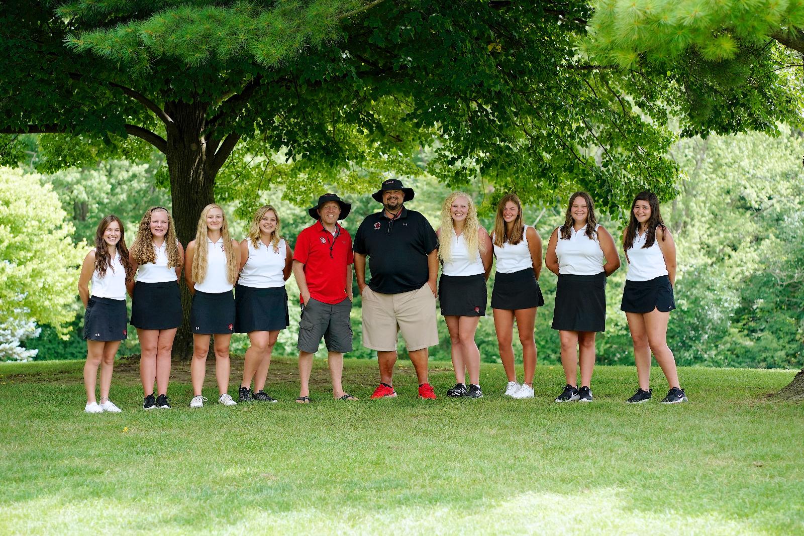 Girls Golf Team Unbeaten in KT Division