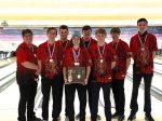Bellefontaine Boys Bowling were on fire and made school history.