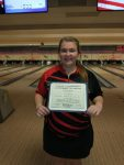 Lindsey Heminger 3rd Place at DI District Bowling Tournament