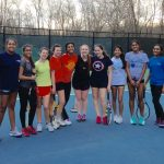 2016 Varsity Girls Tennis Team