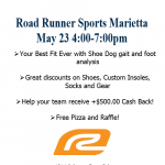 WHEELER XC Team Night at Road Runner Sports – May 23