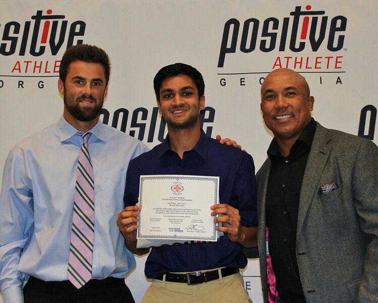 Jeet Kothari named most Positive Athlete for the State of Georgia for Soccer @PositiveAthGA