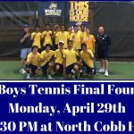 Boys Tennis Final Four