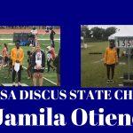 2019 State Discus Champion