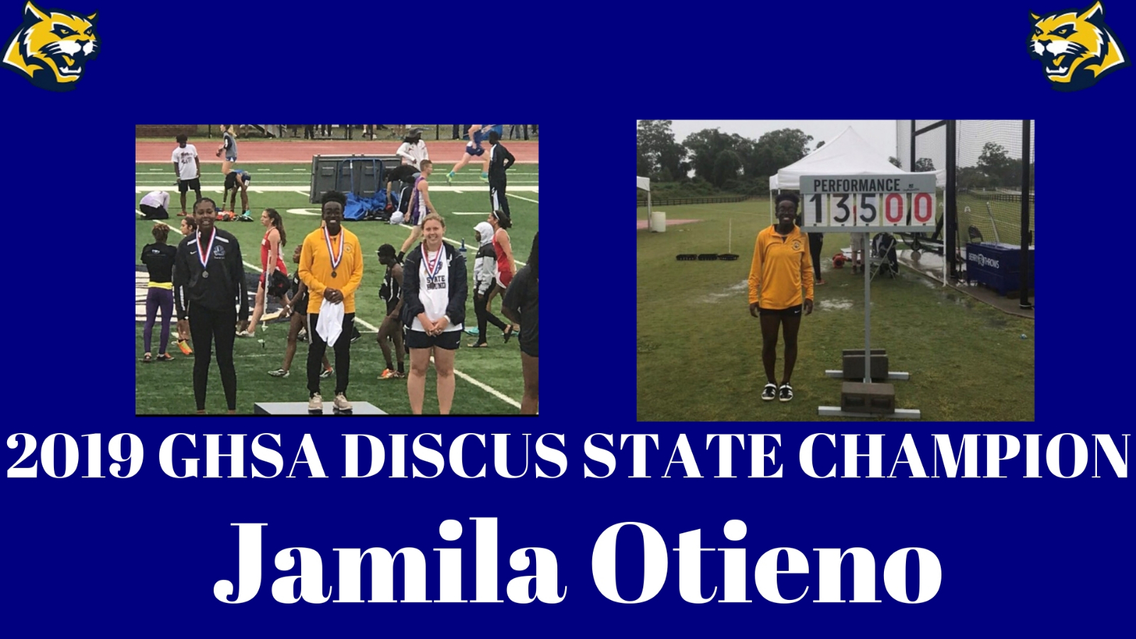 2019 State Discus Champion