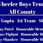 Wheeler Boys All County