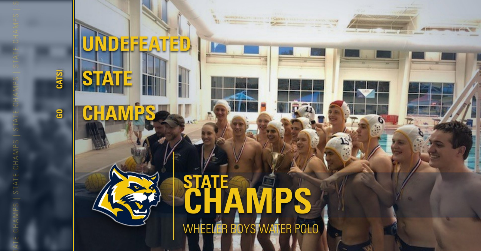 Wheeler Boys Water Polo are State Champs!