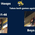 Wheeler Hoops takes both games vs Newnan