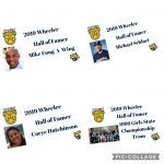 Wheeler High School Hall of Fame class of 2019