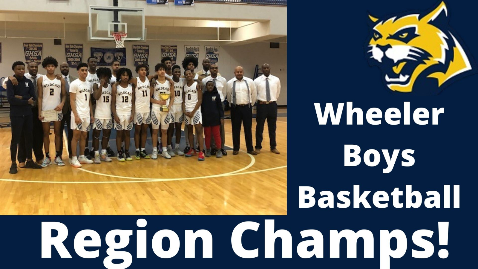 Region Champions! Take on Etowah at Home Friday @ 7pm