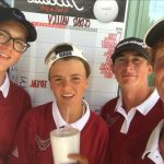 Boys Golf claims victory in school's first ever athletic contest!