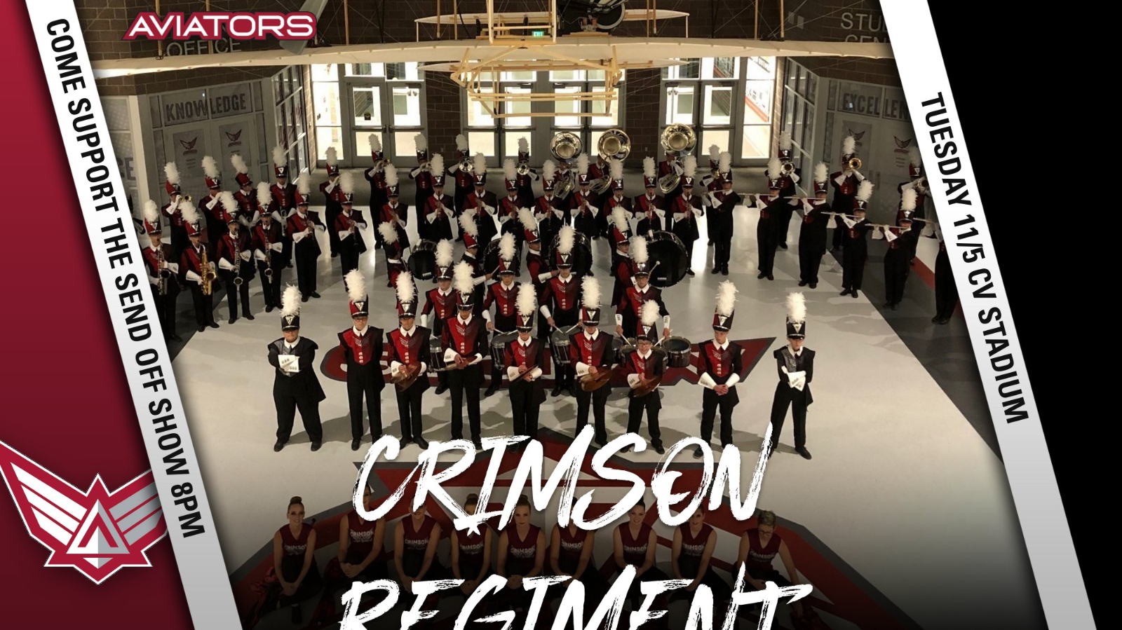 Come Support The Crimson Regiment Tuesday, 11/5 @ 8pm