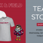 Track & Field Team Store EXTENDED!