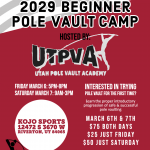 2020 Beginner Pole Vault Camp by UTPVA