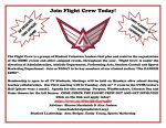 JOIN THE FLIGHT CREW TODAY! Click here for more information!