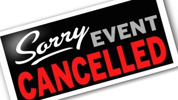 Crimson Day Cancelled- Saturday August 8th