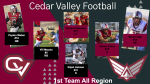 Football All Region Teams