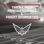 Track and Field Spring Practice/Parent Information
