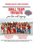 DRILL TEAM TRYOUTS  information click here