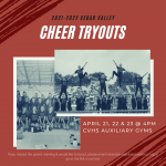 2021-22 Cheer Tryouts Registration is OPEN
