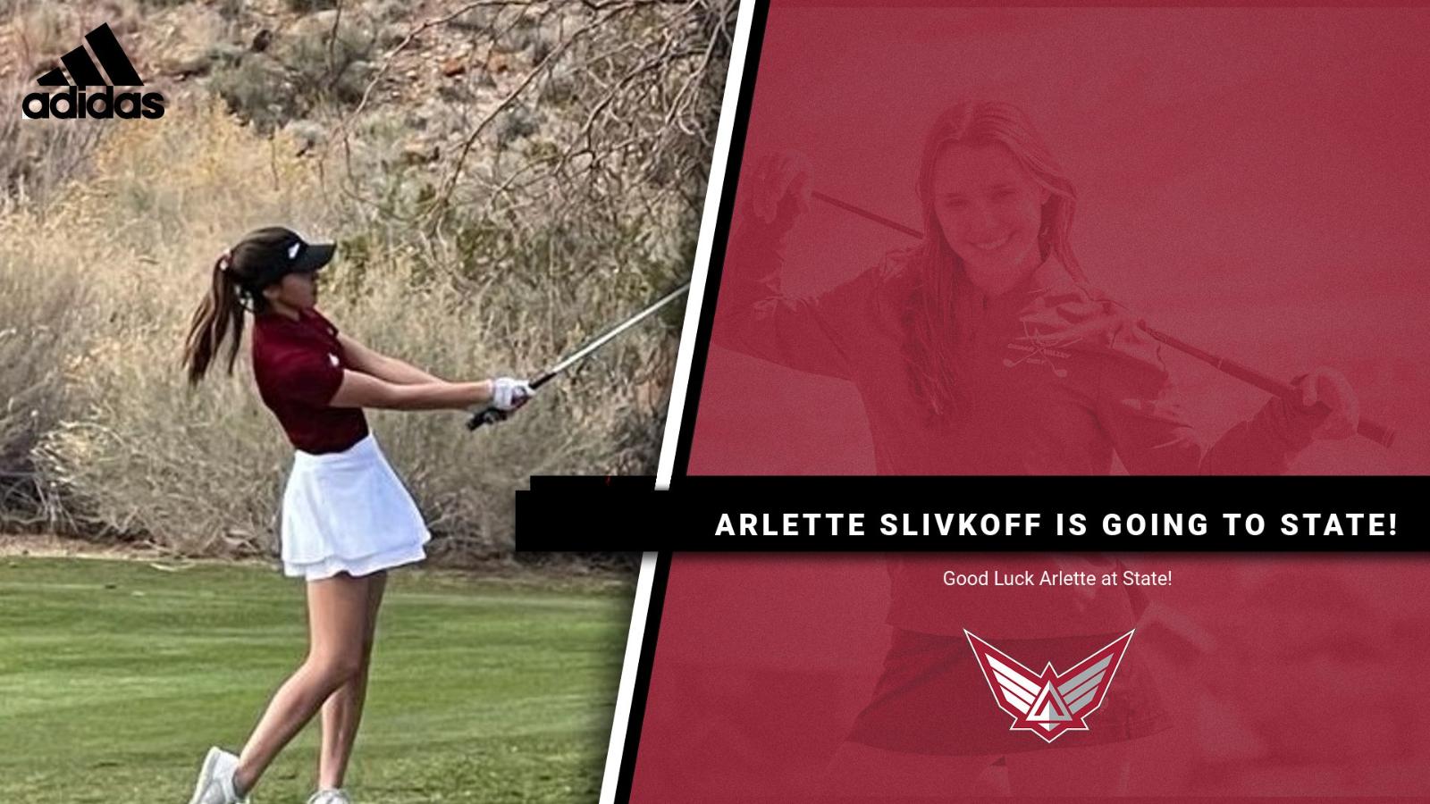 Arlette Slivkoff Qualifies for STATE!
