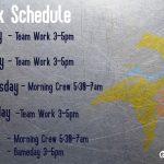 TV Football Weekly Agenda 3-25/3-29