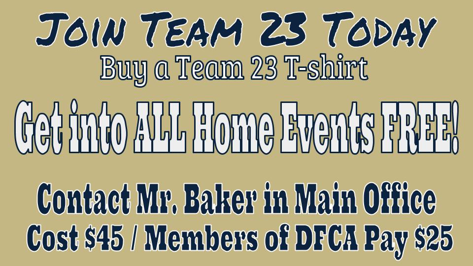 Join Team 23 Today – Get into All Home Games Free