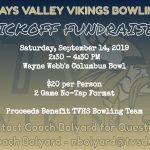 Vikings Bowling to Hold Kickoff Fundraiser