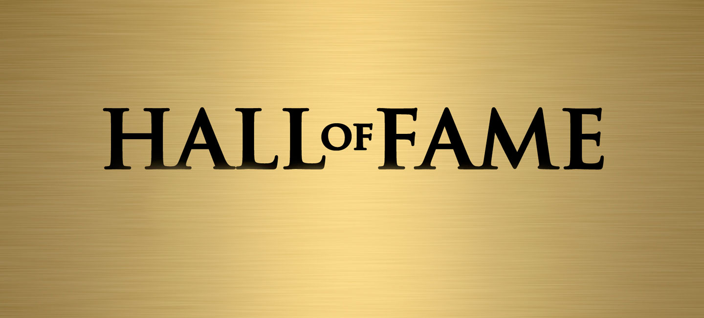 Hall of Fame Nominations due December 31, 2019