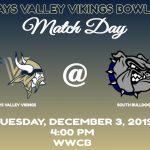 Vikings Bowling Team Take on South