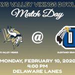 Vikings Travel to Delaware Lanes