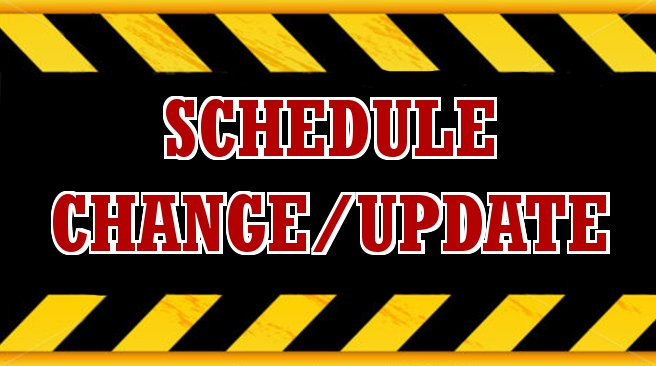 Updated Boys Basketball Schedule 1/12-1/23